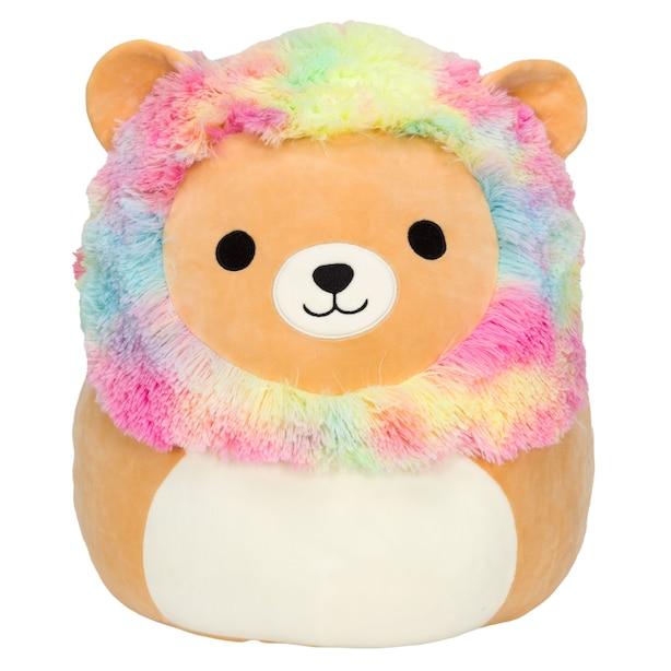 "Squishmallow 8"" TIEDYE LION"