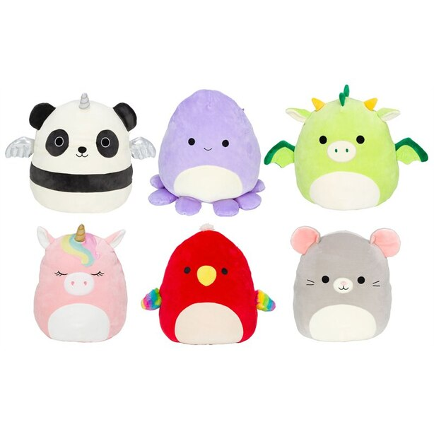 """Squishmallows 8"""" Animals & Mythical Creatures 1 of 6 Assorted Styles"""