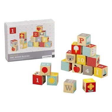 Petit Collage® ABC Wood Blocks