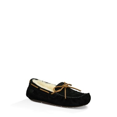 9ea66a3c66a UGG® Dakota Slipper - Black, Size 10