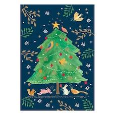 Boxed Cards - Festive Woodland Tree