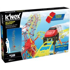 K'NEX Sky Sprinter Roller Coaster Building Set