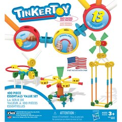 K'NEX Tinkertoy 100 Piece Essentials Value Set