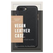 Common Craft Vegan Leather Case for iPhone 6/7/8 Plus Black