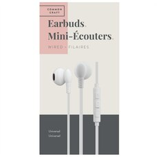 Common Craft Wired Earbuds White