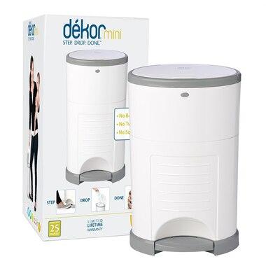 Dékor® Diaper Disposal Bin Mini White