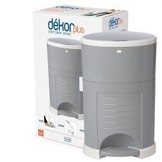 Dékor® Diaper Disposal Bin Plus Grey