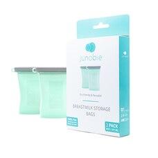 Junobie Sac de conservation réutilisable pour le lait maternel Pack de 2- The Journey (Exclusivité…