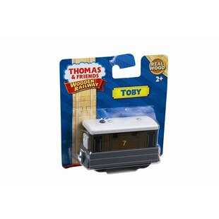Thomas and Friends Wooden Railway Engine - Toby