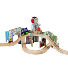 Thomas & Friends Wood Creative Junction Slot & Build