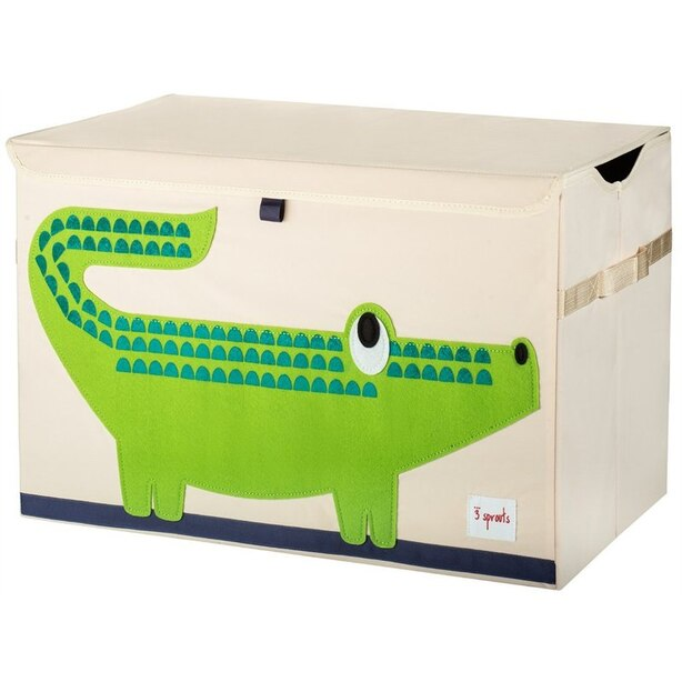TOY CHEST, CROCODILE