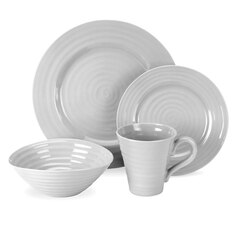 Sophie Conran Grey 4-Piece Dinnerware Set