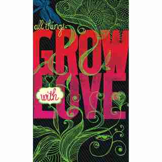 COMPENDIUM WRITE NOW  SOFTCOVER JOURNAL — ALL THINGS GROW WITH LOVE