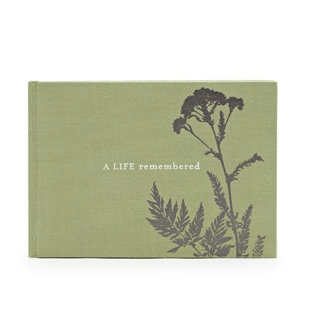 Livre d'invités A Life Remembered - funérailles