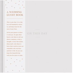 COMPENDIUM ON THIS DAY WEDDING GUEST BOOK