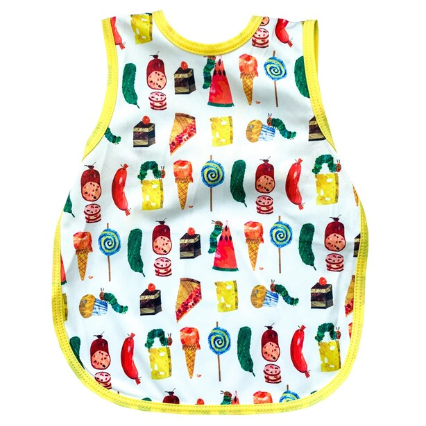 Bapron Eric Carle Bib in Food Parade (6m+)