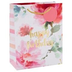 Floral Watercolour Gift Bag - Medium