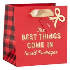 Small Best Things Small Packages Bag