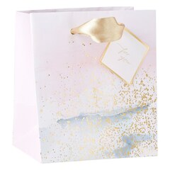 Small Gift Bag - Watercolour & foil