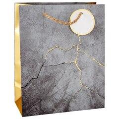 Medium Gift Bag - Cement Foil