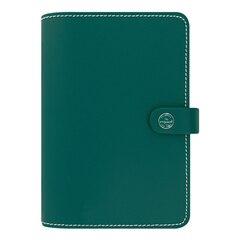 Agenda Filofax Original Leather 2018 de 12 mois avec couverture en cuir, sans date — Vert