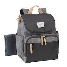 RIDGELINE BACKPACK DIAPER BAG - GREY
