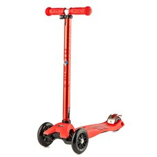 MICRO Maxi Deluxe Kickboard Scooter-Red