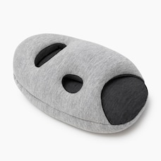 OSTRICHPILLOW® MINI TRAVEL PILLOW - MIDNIGHT GREY