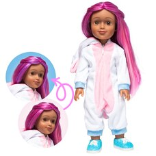"I'M A WOW 14"" DOLL SOPHIA THE UNICORN WITH COLOR-CHANGING HAIR 14"""