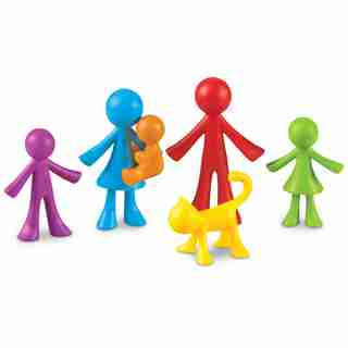 Learning Resources All About Me Family Counters