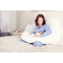 Ultimate Mum Pillows Pregnancy and Nursing Pillow The Ultimate Pillow J-Shaped