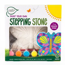 Creative Roots DIY Creative Craft Kit Mosaic Stepping Stone Butterfly