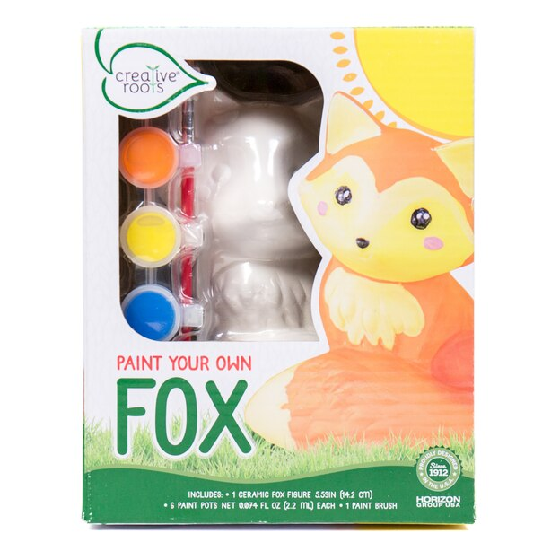Creative Roots™ Paint Your Own Fox