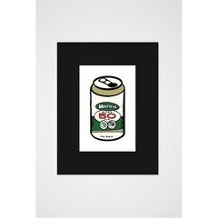50 Canette de bière affiche