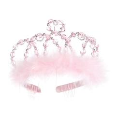 Princess Tiara - Pink/Silver