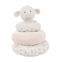 LILA THE LAMB PINK STACKER TOY