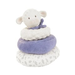 LUCAS THE LAMB BLUE STACKER TOY