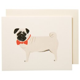 PUG EVERYDAY GREETING CARD