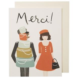 MERCI GREETING CARD