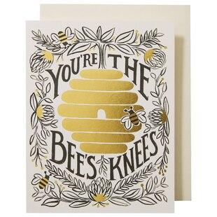 BEES KNEES EVERYDAY GREETING CARD