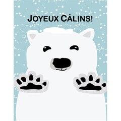 Bear Hugs Joyeux Câlins Xmas boxed cards