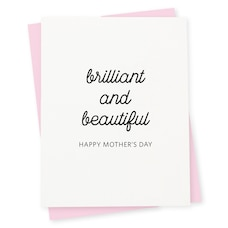 Paper E. Clips Mother's Day Card Brilliant