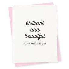 Paper E. Clips Mother's Day Card Brilliant