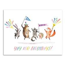 Paper E. Clips Birthday Card Critter Birthday