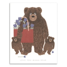 Mother's Day Card Mama Bear