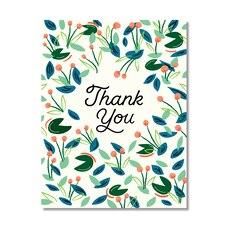 Paper E. Clips Thank You Card Thank You
