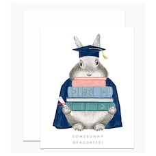 Paper E. Clips Mother's Day Card Somebunny Graduated