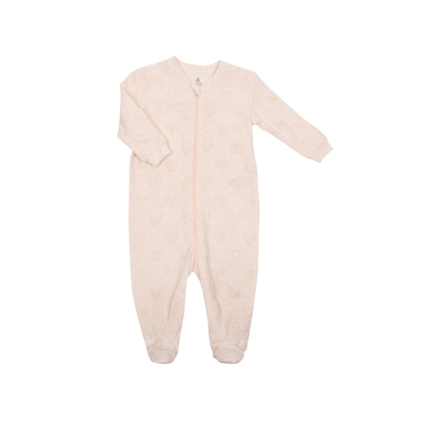Gertex Dream Velour Burnout Sleeper - Newborn - Pink