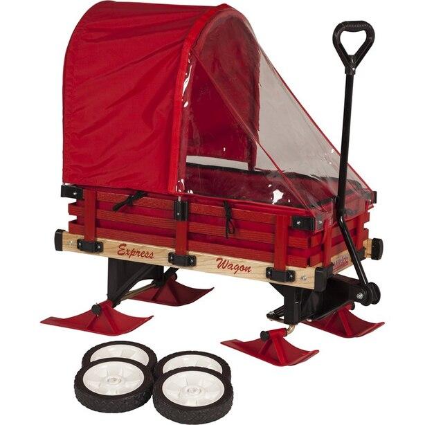 Millside Deluxe Convertible Sleigh Wagon