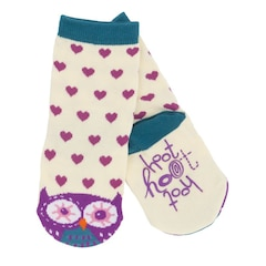 Kids Animal Sock - Hoot Hoot - Small